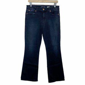 Level 99 Chloe Bootcut Mid Rise Dark Wash Jeans